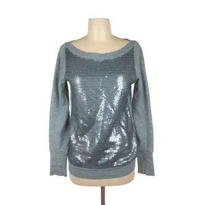 Ann Taylor Loft Sweatshirt, terry sweater sequence